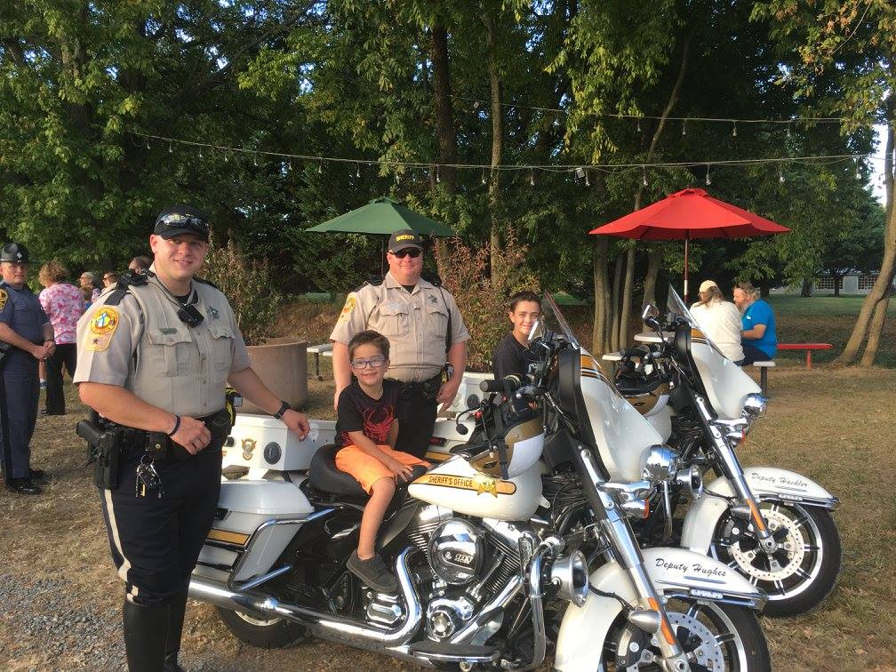 Motor Units at Community Event