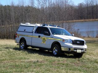 Animal Control Truck By Lake