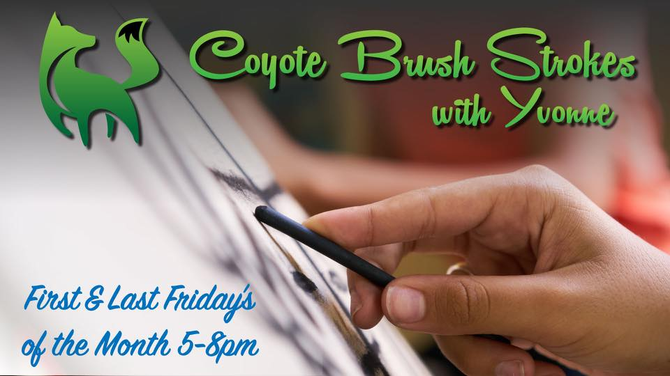 Coyote Hole Brush Strokes with Yvonne